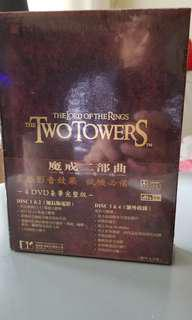 The Lord of the Rings: The Two Towers (DVD, 4-Disc Set, Platinum Series Special Extended Edition