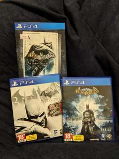 PS4 Batman Return to Arkham