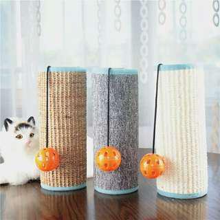 全新 柱型貓抓板  貓玩具  寵物用品