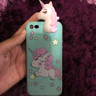 Rainbow unicorn case iphone 5