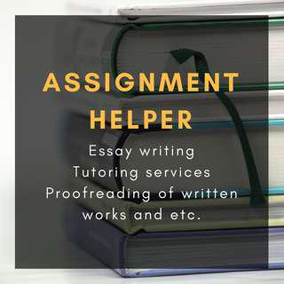 ASSIGNMENT HELPER