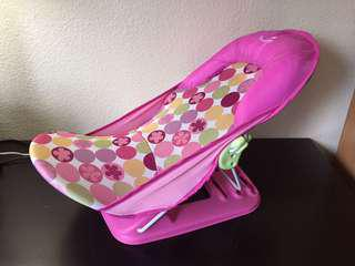 Summer Pink Deluxe Baby Bather