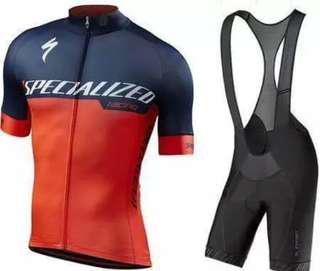 SPECIALIZED Cycling Jersey Full Set