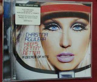 Christina Aguilera Decade of Hits Cd