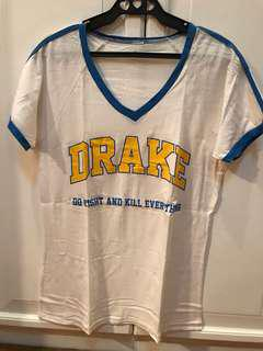 DRAKE Vneck shirt