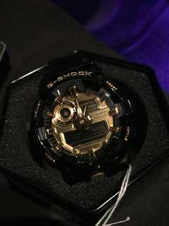 全新有盒Casio G-SHOCK GA-710GB-1A