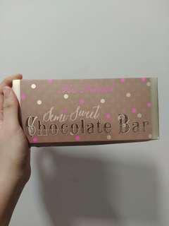 BNIB Too Faced Chocolate bar Eyeshadow palette