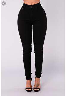 Fashion Nova Jeans Size 1