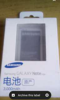 Original and New Samsung Galaxy Note Edge