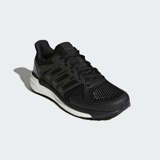 Sepatu ADIDAS SUPERNOVA ST BOOST, Black White. CG4036. 100%Original