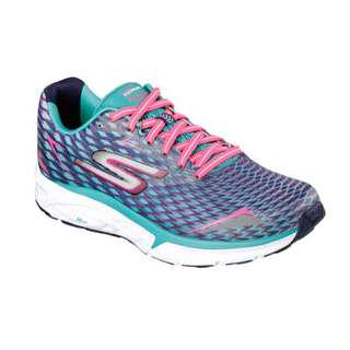 Sepatu SKECHERS GO RUN FORZA 2, Navy Aqua. 14106NVAQ. 100%Original Women. Running
