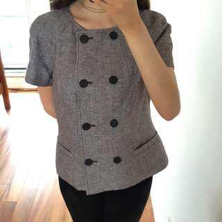 Calvin Klein Short Sleeved Jacket