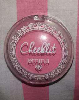 Blush on Emina Cheeklit cherry blossom