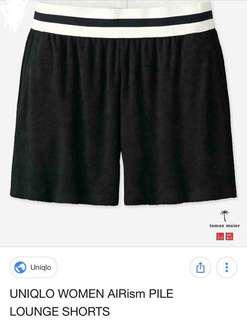 60% off Uniqlo Women Pile Lounge Shorts Brand New