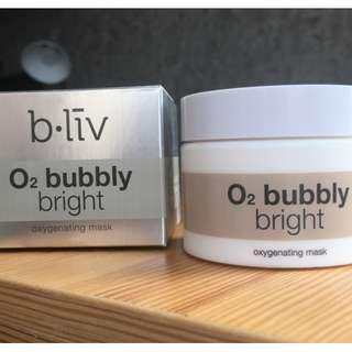 b.liv O2 Bubbly Bright Oxygenating Mask #mcsbeauty #list4sb