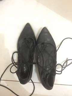 Zalora something borrowed ballerina shoes