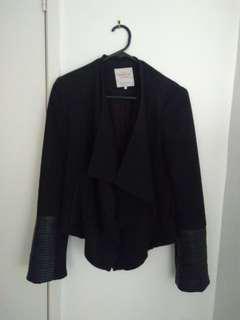 Zara waterfall jacket