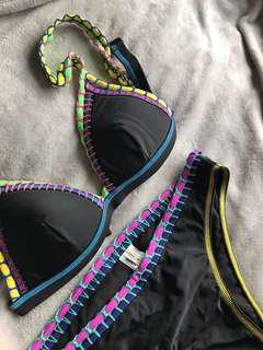 O'niell black bikini size 10