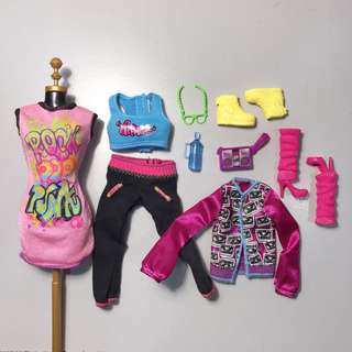 Barbie Fashion Pack Pop Star Outfit