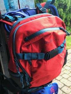 BRAND NEW Burton Riders Backpack Coral Ripstop