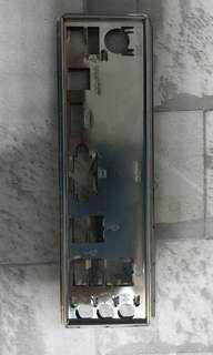🚚 送咖啡 華碩 P7H55-M 主機板 後擋板
