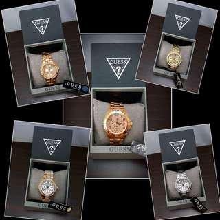 Authentic Guess Watches