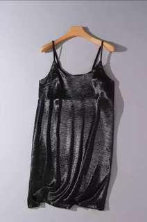 Basic Black Silk Dress (BN)