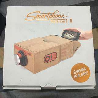 Smartphone Projector 2.0 cardboard