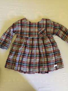Original Zara dress for baby 12-18 months