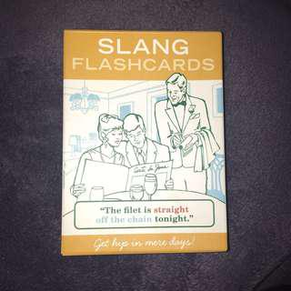 Slang Flashcards - Knock Knock