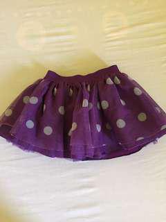 Cute baby ballet skirt