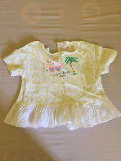 Original Zara baby blouse