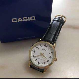 White Face Gold Casio Watch! BNIB!