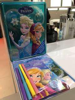 Brand New in Box Frozen & Anna Activity Set