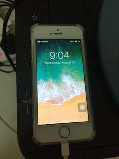 iPhone 5s gold 16gb phone only