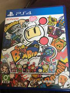 99%new 炸彈人 super BOMBERMAN R PS4