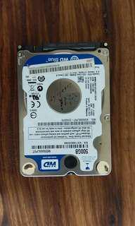🚚 送美式咖啡 WD 500G SATA 2.5吋 筆電 硬碟 良品 非 SEAGATE TOSHIBA SSD
