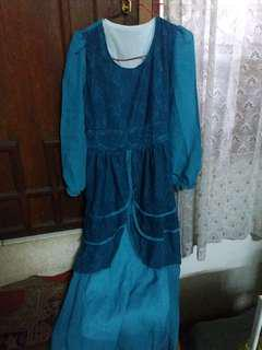 Dress Hijau Tosca