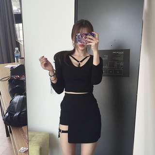 Chic ring design skirt