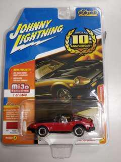 Johnny Lightning Datsun 280ZX 紅 not tomica tomytec tiny tarmac hotwheels
