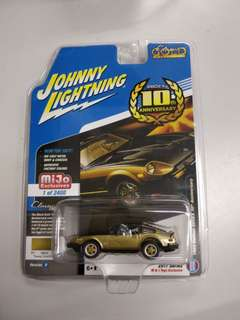 Johnny Lightning Datsun 280ZX 金 not tomica tomytec tiny tarmac hotwheels