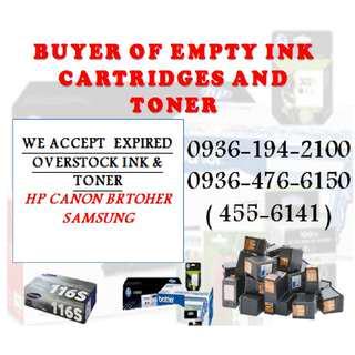 Expired Overstock Buyer of Empty Ink Cartridges and Toner