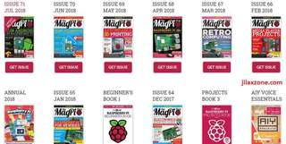 Get Official Raspberry Pi Magazines for FREE!