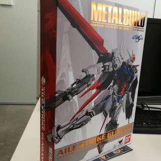 Bandai metal build aile strike gundam