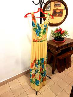 Summer Beach Maxi Dress