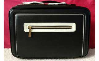 ESTEE LAUDER HOLIDAY BLACK BAG , makeup case