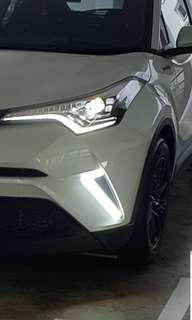 Toyota CHR Bumper Lights
