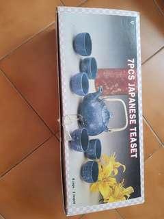 7 pc Japanese Tea Set