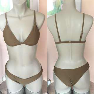 New Olive Green Bikini