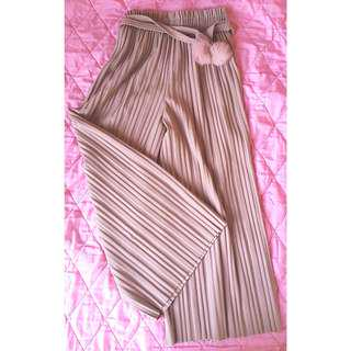 Pleated Pants_Pink